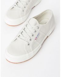 Superga - Cotu Classic 2750 Gray Canvas Sneakers - Lyst
