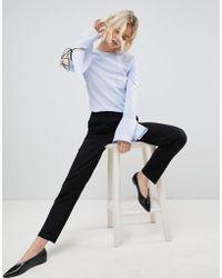 UNIQUE21 - Unique 21 Black Strech Tailored Trouser - Lyst
