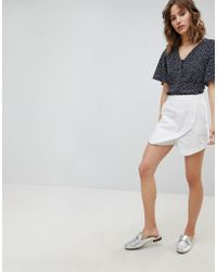 ASOS - Asos Tailored Clean Linen Skort - Lyst