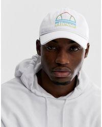 7f60ce91444 Ellesse Binno Reversible Camo Bucket Hat in Blue for Men - Lyst