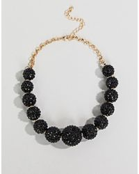 Coast - Ball Sparkle Necklace - Lyst
