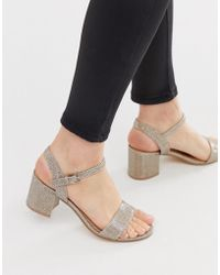 002f6684196 Mid Heel Sandals