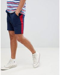 Another Influence - Side Stripe Jersey Shorts - Lyst
