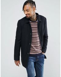 Tokyo Laundry - Wool Mac With Quilted Chambray Lining - Lyst