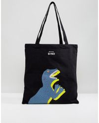 PS by Paul Smith - Dino Printed Tote Bag - Lyst