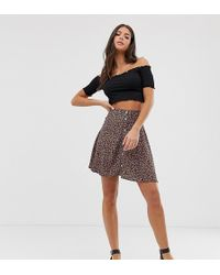 New Look - Skirt In Ditsy Floral Pattern - Lyst