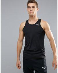 PUMA - Running Vest In Black 51500701 - Lyst