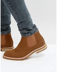 Call It Spring - Haalewien Chelsea Boots In Tan - Lyst
