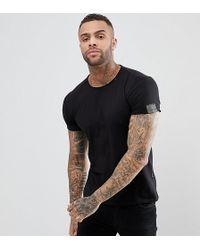 Replay - Loose Neck T-shirt Black - Lyst