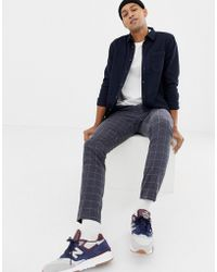 Nudie Jeans - Co Henry Button Down Shirt In Navy - Lyst
