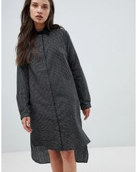 Bolongaro Trevor - Stripe Shirt Dress - Lyst