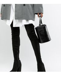 ASOS - Asos Design Tall Kassidy Heeled Over The Knee Boots - Lyst