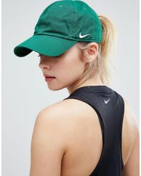 Nike - Heritage 86 Cap In Forest Green - Lyst