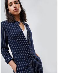 G-Star RAW - Pharrell Jumpsuit In Pinstripe - Lyst