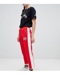 Ellesse - Tracksuit Bottoms With Sports Stripe - Lyst