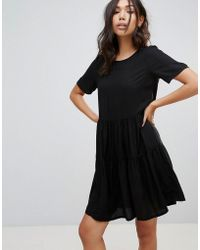 Vero Moda - Tiered Smock Dress - Lyst
