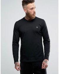 Polo Ralph Lauren - Long Sleeve Top In Crew Neck - Lyst