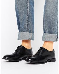 H by Hudson - Leather Brogues - Lyst