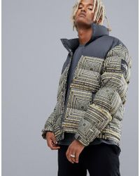 The North Face - 1992 Nuptse Jacket In Lcd Print - Lyst