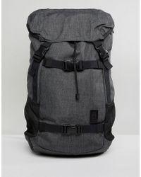 Nixon - Landlock Se Ii Backpack In Grey - Lyst