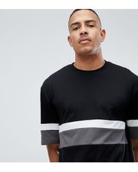 D-Struct - Tall Cut And Sew Peached T-shirt - Lyst
