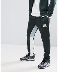 Nike - Archive Retro Joggers In Green 941849-332 - Lyst