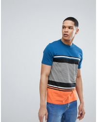 PS by Paul Smith - Multiple Stripe T-shirt In Orange - Lyst