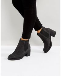Office - Apple Faux Fur Lined Boots - Lyst