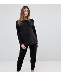 ASOS - Lounge Longline Sweat And Jogger Set - Lyst