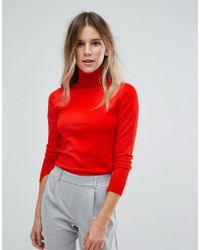 Oasis - Polo Neck Jumper - Lyst