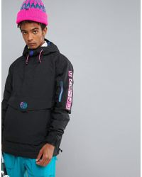 O'neill Sportswear - Reissue Frozen Overhead Insulated Ski Jacket Hooded In Black - Lyst