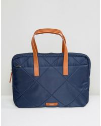 Knomo - Talbot Laptop Briefcase With Rfid Protection - Lyst