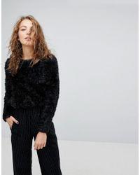 Weekday - Sparkle Fluffy Knit - Lyst