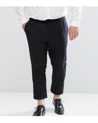Bellfield - Plus Cropped Trousers With Pleated Front - Lyst