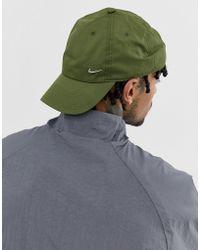 Nike - Gorra con logo de metal en caqui 943092-395 de - Lyst