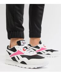 Reebok - Classic Rapide Trainers In Black Exclusive To Asos Dv5074 - Lyst b89cc3c23