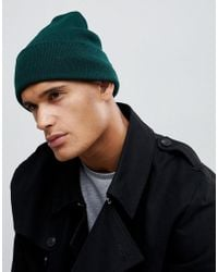 0cf2c249d50 New Look Chunky Knit Beanie In Stone in Natural for Men - Lyst
