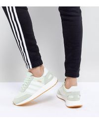f8f60ede65a28 adidas Originals Originals Swift Run Sneakers In White With Mint ...