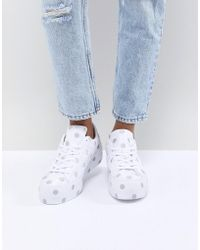 0551ad0661c3 Converse - One Star Platform Sneakers With Embroided Polka Dot - Lyst