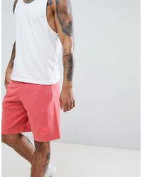 Nike - Washed Jersey Shorts In Orange 893295-634 - Lyst