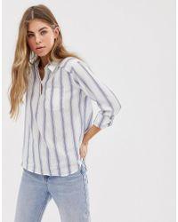 Hollister Shirt In Stripe