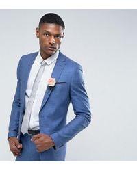 d8986508462 Ben Sherman Camden Super Skinny Charcoal Tonic Suit Jacket in Gray ...