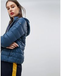 Esprit - Hooded Padded Short Jacket - Lyst