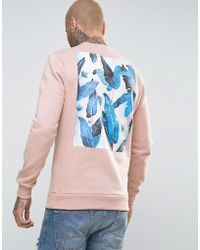 Friend or Faux - Reefs Back Print Jumper - Lyst