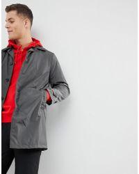 Mango - Man Water-repellent Trench Coat In Dark Grey - Lyst