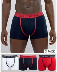 French Connection | Fcuk 3 Pack Boxers | Lyst