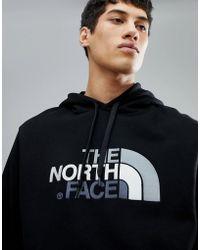 The North Face - Drew Peak Pullover Hoodie In Black - Lyst