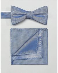 SELECTED | Bow Tie & Pocket Square | Lyst
