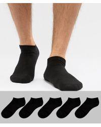 Jack & Jones - Sneaker Socks 5 Pack - Lyst