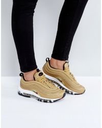 Nike - Air Max 97 Gold Trainers - Lyst